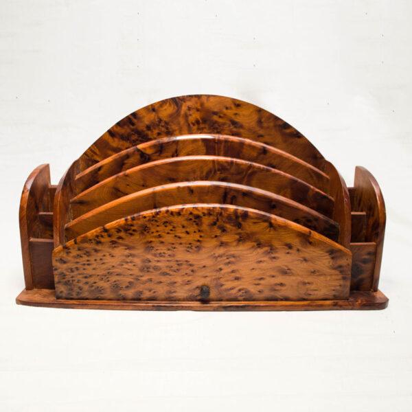 Classeur fabrique en bois de thuya
