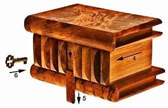 Boite secrete en bois de thuya