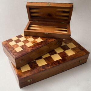 boite de jeu baggamon