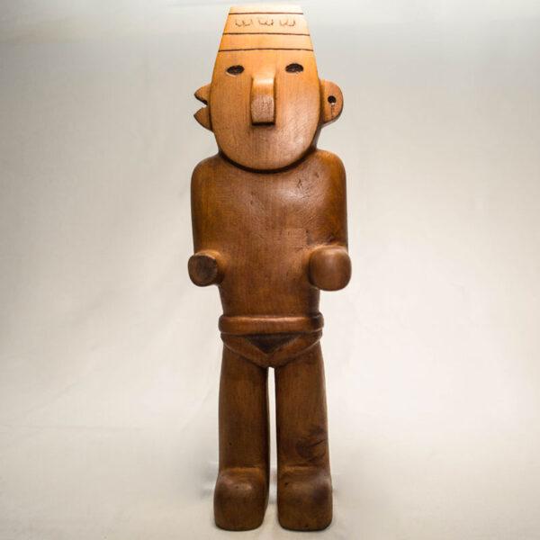 sculpture loreil casseen bois de thuya